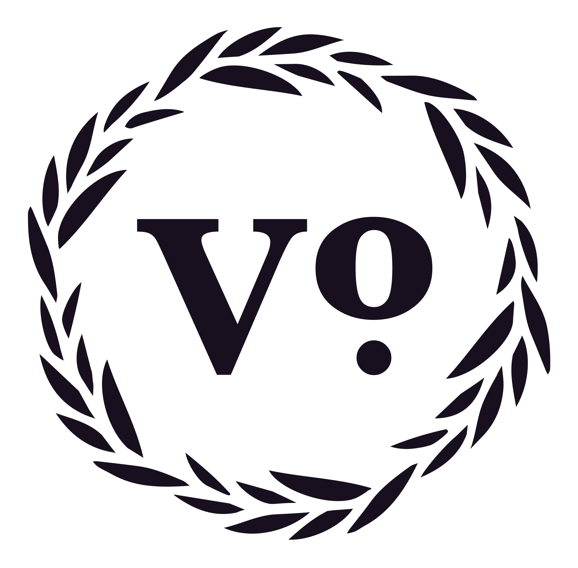 VO London Logo in Black