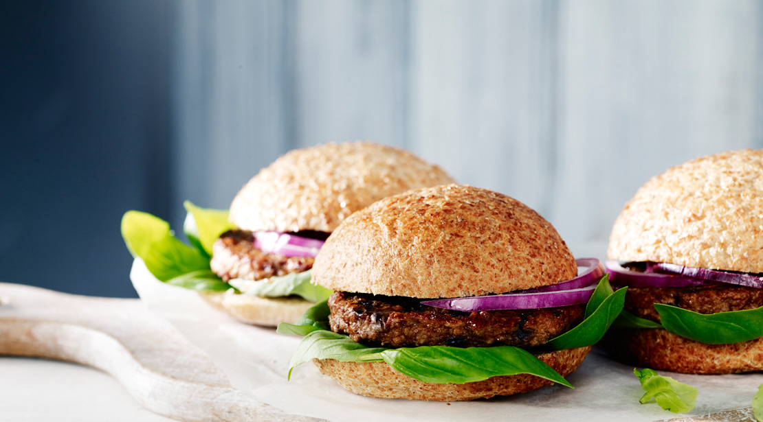 Linda McCartney Pulled Pork vegan burger