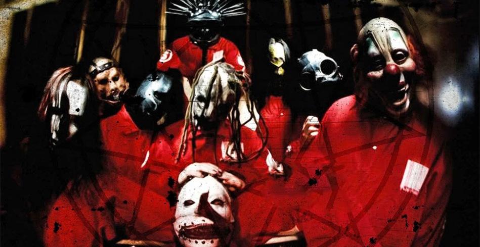 Metal band, Slipknot, in 1999