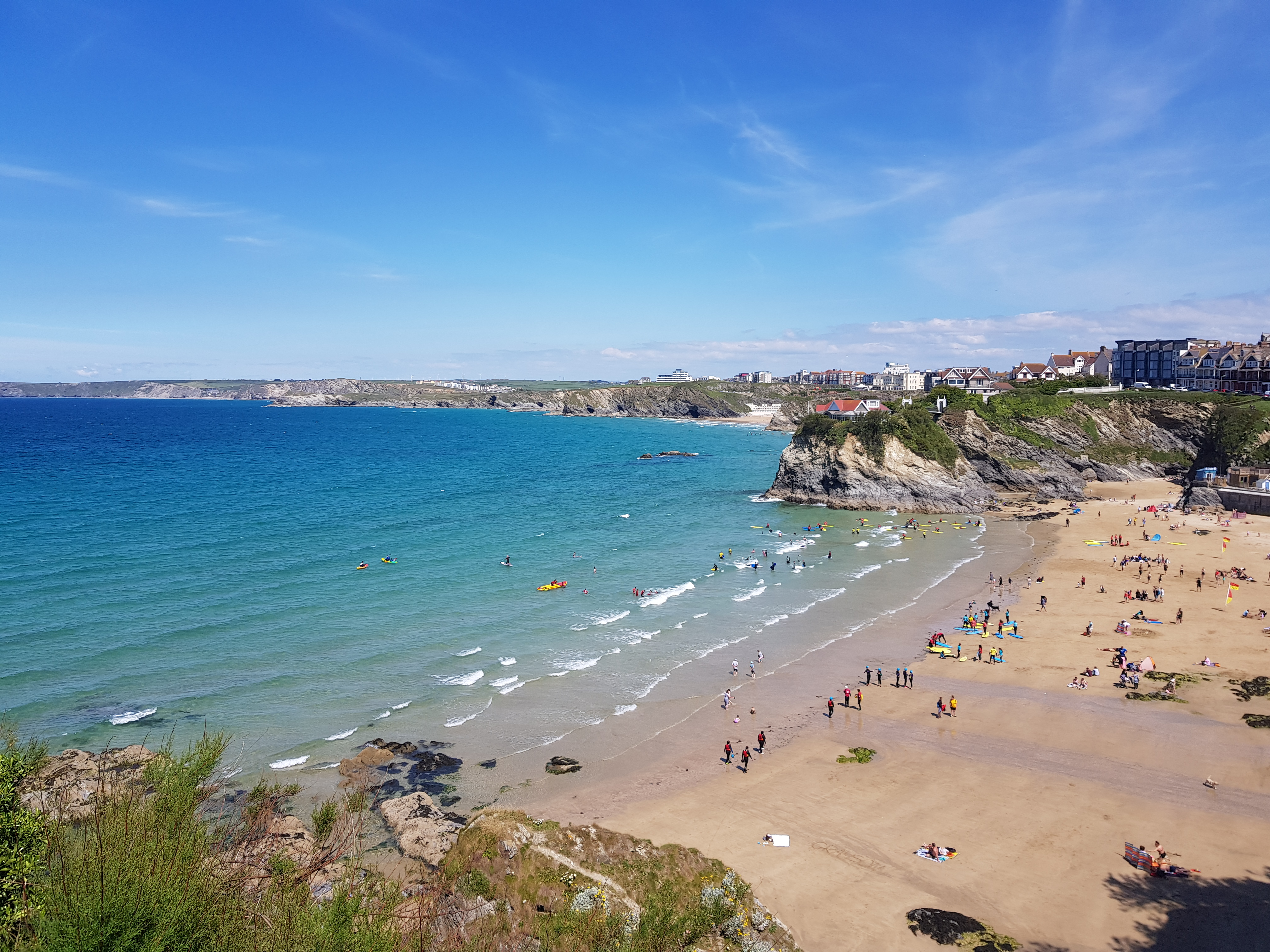Towan Beach Newquay
